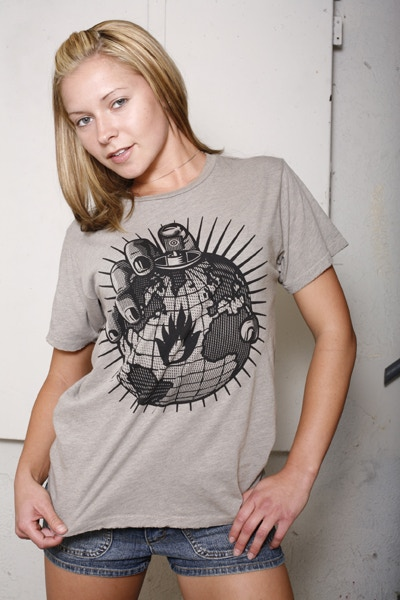 BOMB IT t-shirt (From the BOMB IT Art designed by Shepard Fairey)