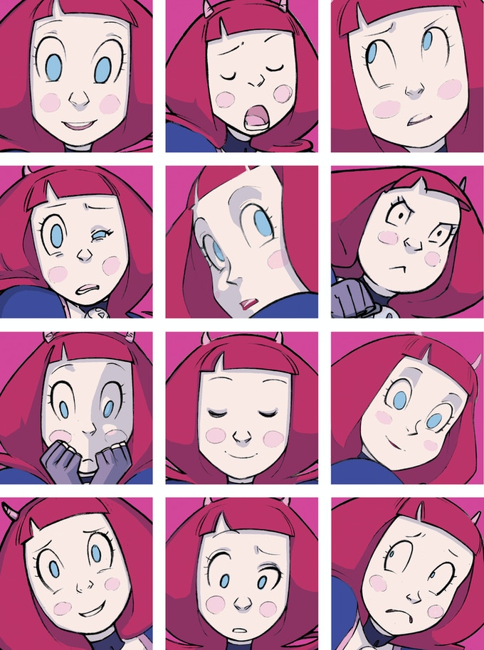 The many faces of Evil Diva