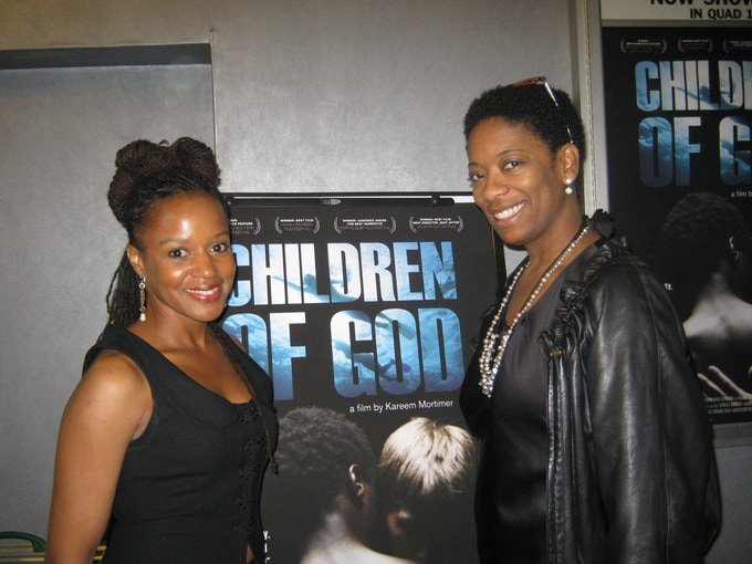 "Margaret Kemp from ""Children of God"" and Producer, Trevite Willis"