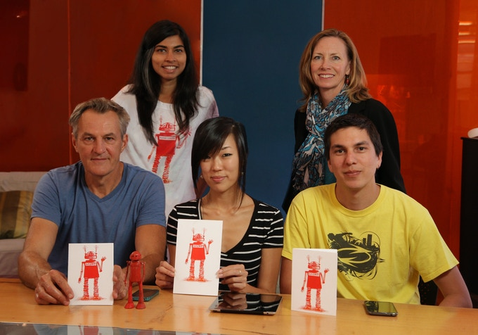 The Artiphany team in our office in Sunnyvale