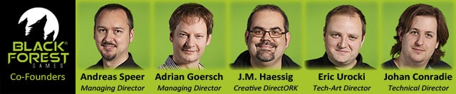 Not only managers and directors, but deep in the trenches of development: combining over half a century of experience in the gaming industry, our 5 founders are committed to deliver fun and entertaining games!