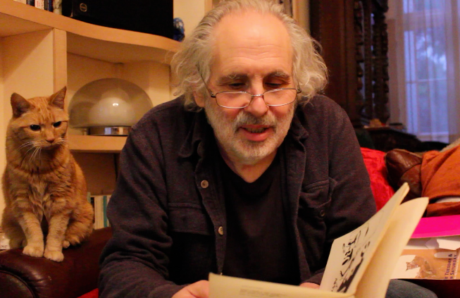 Pete Brown reading one of his poems