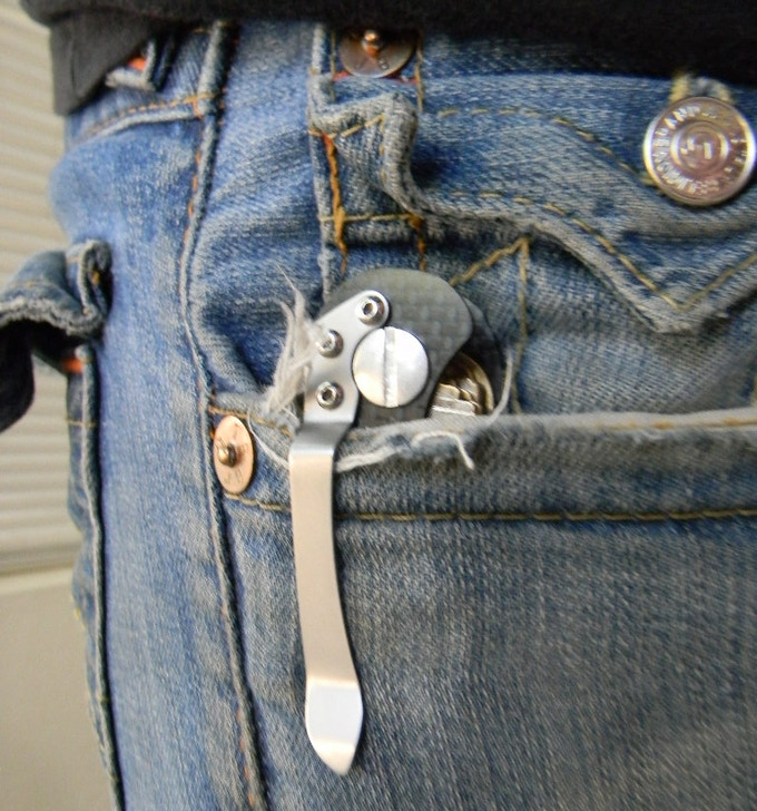 Clipped in Pocket