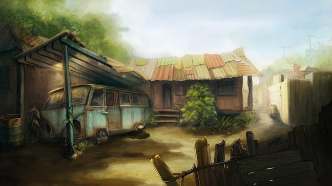 Bolt Riley's house