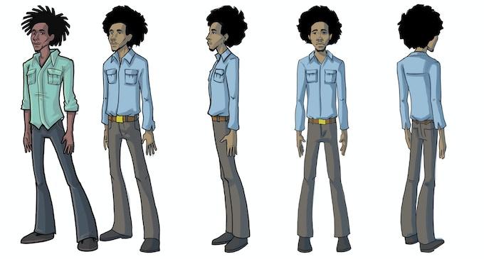 Bolt Riley's Character Concept Art