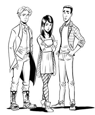 John, Shaw, & Aaron