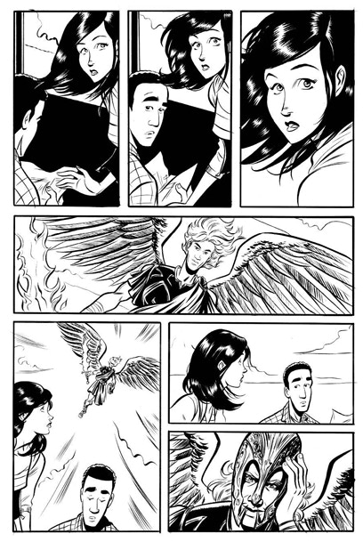 Inked Page
