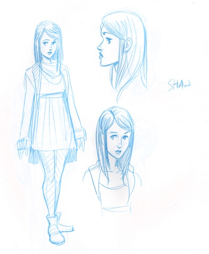 Sketches by Megan Levens