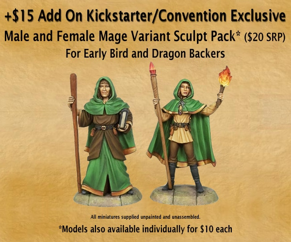 You can also add two Exclusive Variant Sculpts to your Collection!