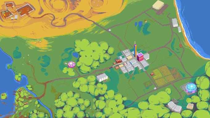 The Main Worldmap