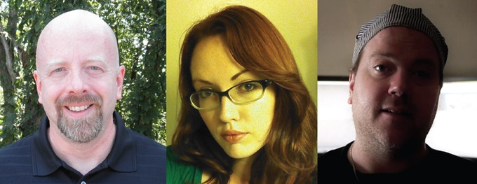 Robert, Megan, and Crank