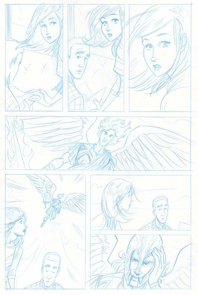 Penciled Page