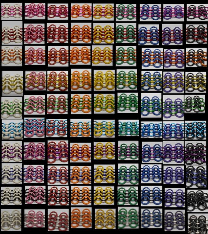 81 color combos