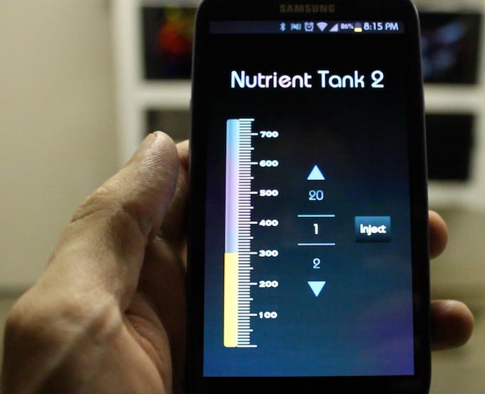 App Tank Sub-Screen