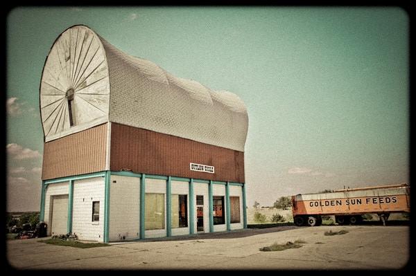 """World's Largest Covered Wagon"" -Milford, Nebraska (2004)"
