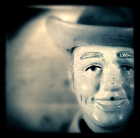 """Cowboy Head"" -East Nashville, Tennessee (2012)"