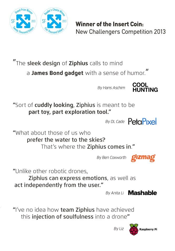 Ziphius: The Aquatic Drone by Azorean - Aquatic Technologies