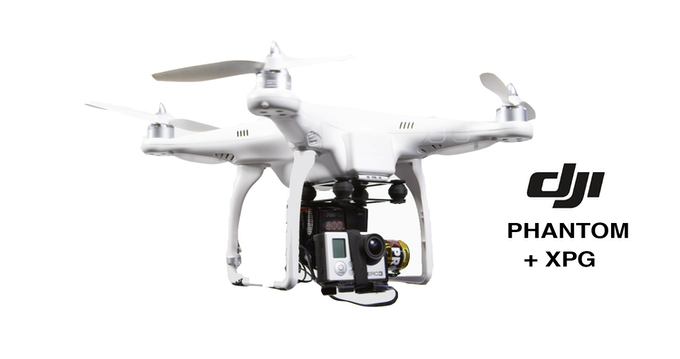 XPG Brushless Gimbal for GoPro Hero 2/3 by XPROHELI by