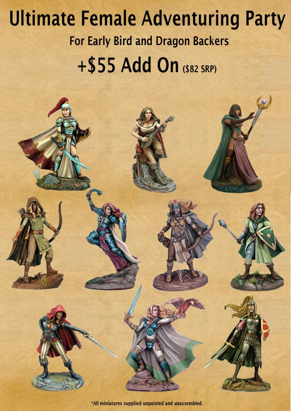 And in honor of being in the home stretch - here is another optional add-on bundle that our Early Bird and Dragon Level Backers can add to their haul.