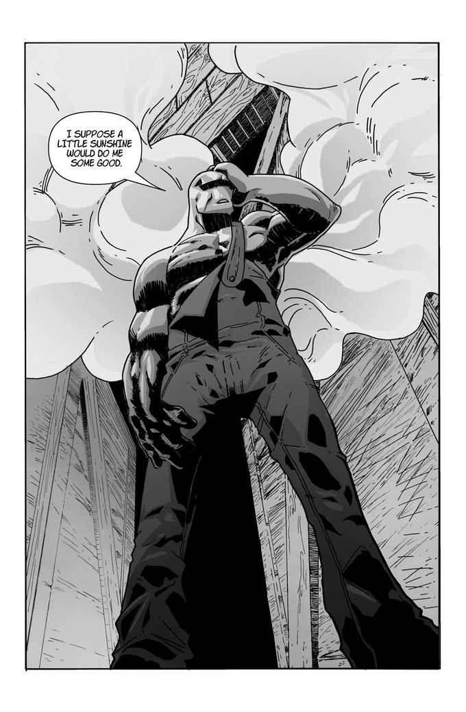 Interior art from the first issue.