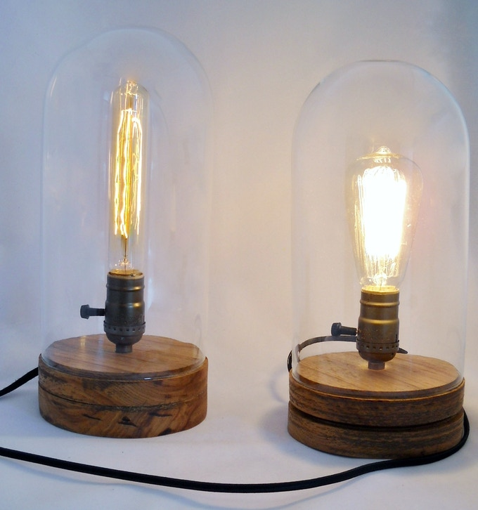 13 flush base lamp left and 12 grooved base lamp right. Black Bedroom Furniture Sets. Home Design Ideas