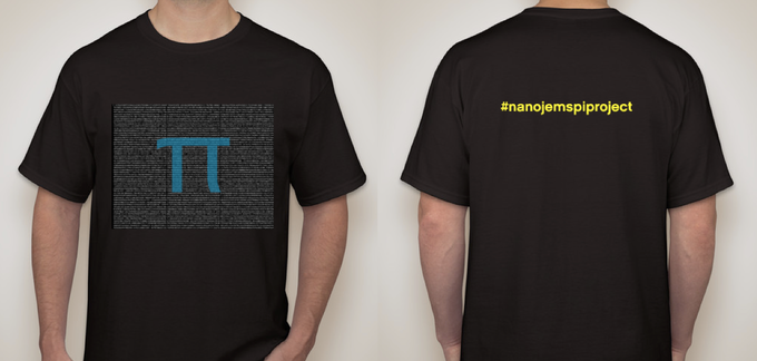 #nanojemspiproject T-shirt design