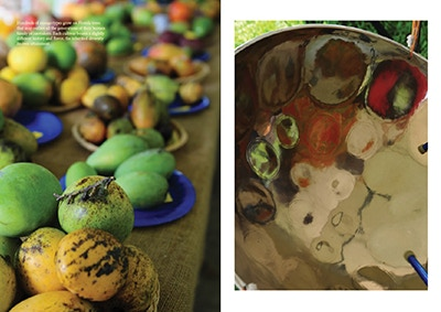 Mango festival and steel drum, Saucy Issue 6: Movement