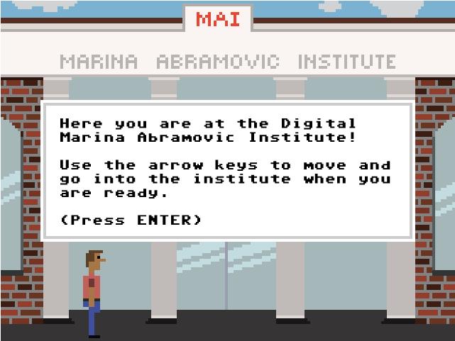 Digital MAI 8-bit Videogame by Pippin Barr