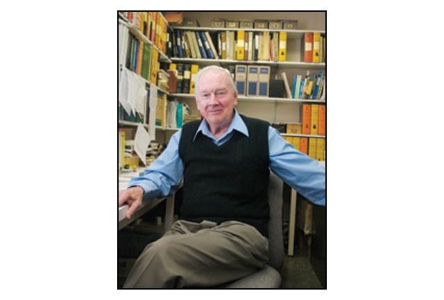 Walter Adey, inventor of the algae scrubber (photo: Erica Goldman)