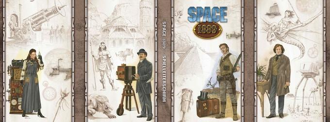 Space: 1889 Gamemaster's Screen
