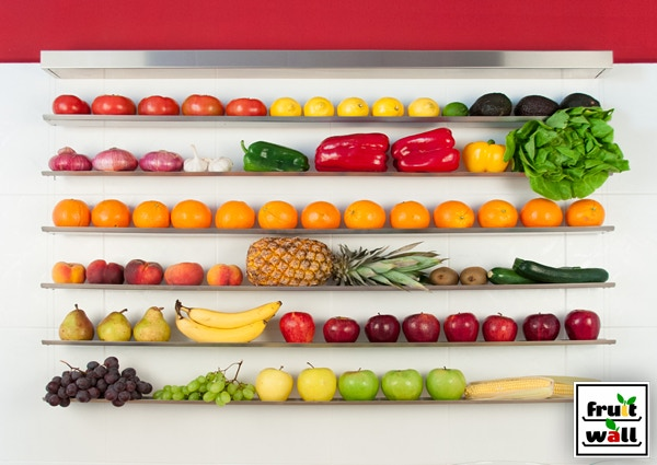 Fruit-Wall Large Stainless Steel