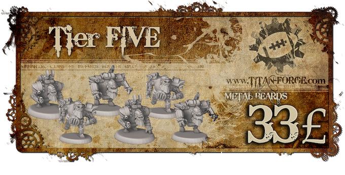 6x Blocker. Defenders holding the line, dwarven specialisation