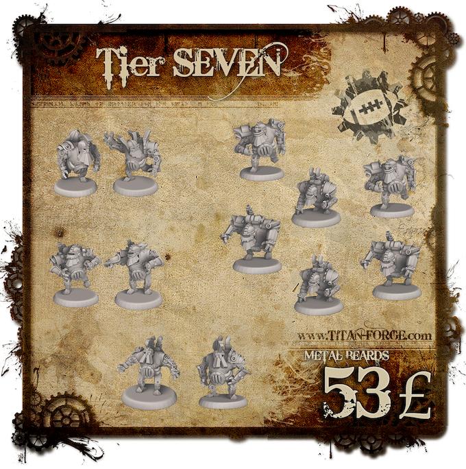 Full Steampunk Dwarfs team without Grinder (6x Blocker, 2x Runner, 2x Blitzer, 2x Crusher). Haste makes waste? Not in this case.