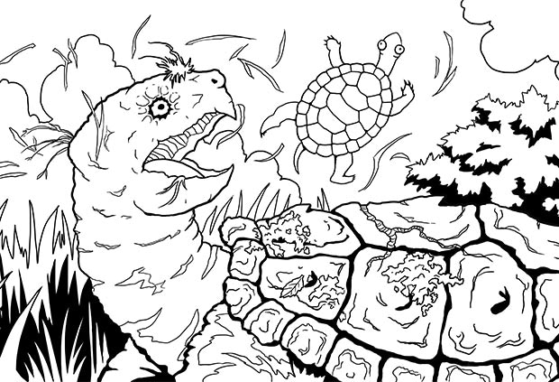 Printable Coloring Book With Every Pledge!