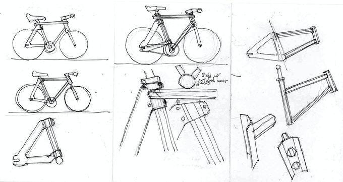 Semester Bicycle: HexTube Bamboo + Carbon Fiber Bike by