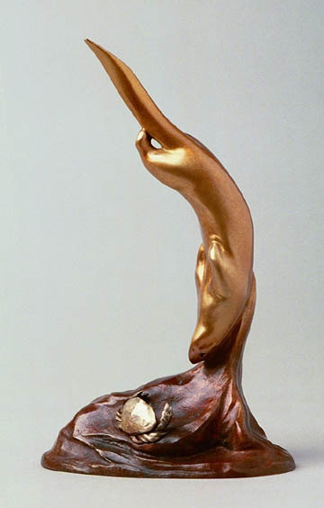 """""""Liquid Assets,"""" a bronze sculpture by Ross Matteson, is your reward at the $1,000 pledge level!"""