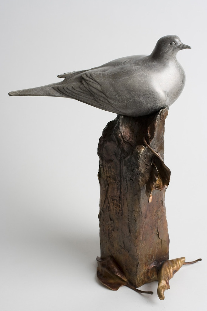 """""""Peace at the Border,"""" a bronze sculpture by Ross Matteson, is your reward at the $3,000 pledge level!"""