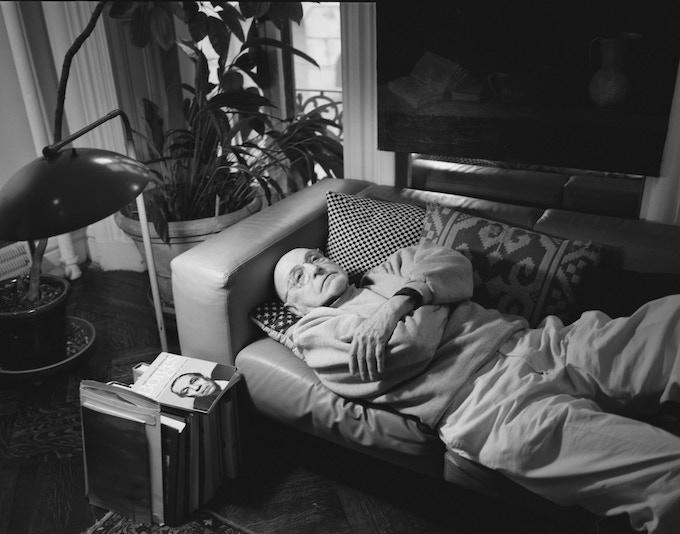 Duane Michals, New York City, 2012