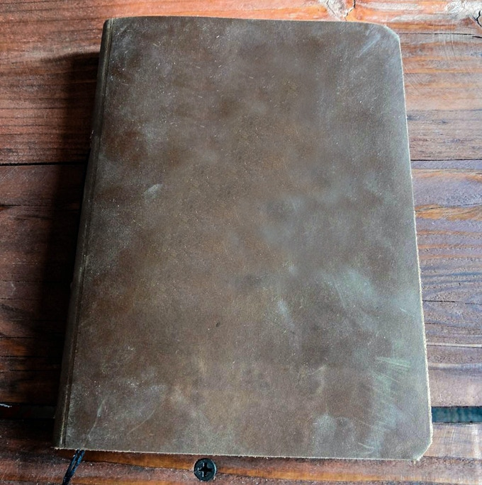 front of Journal