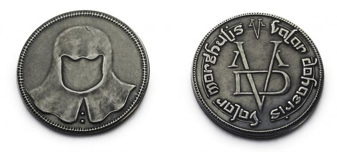 The Iron Coin of the Faceless Man