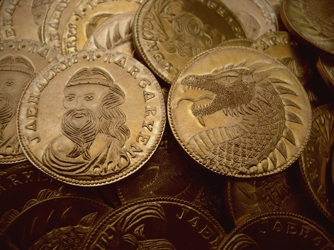 Game Of Thrones Westeros Quot Golden Dragon Quot Coins By Shire