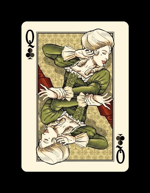 Queen of Clubs - Casanova