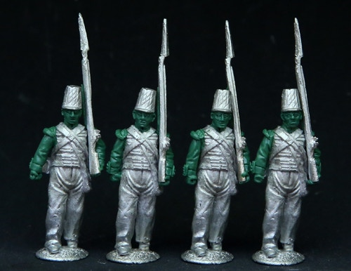British Infantry in Coatee and Covered Shako