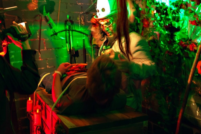 A kidnapped maze walker gets an unplanned visit to our Voodoo Priest 2011