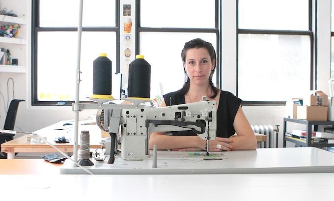 Johanna at work