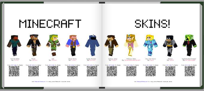 Minecraft Photo Book By Gil Greenberg Kickstarter - Skins para minecraft original