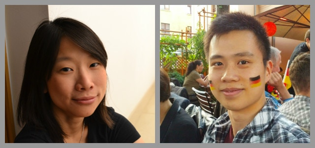 Codlo's founders - Grace and Xi :)