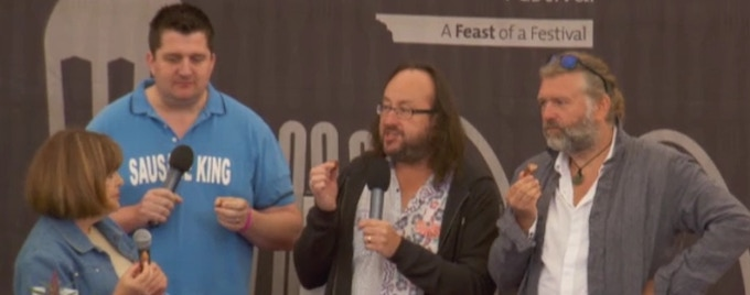 Judging with the Hairy Bikers in Ludlow