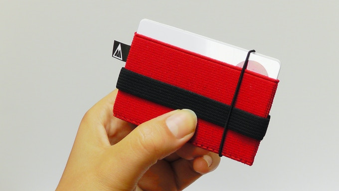 Red - Flip Wallet - Acre Supply Co.