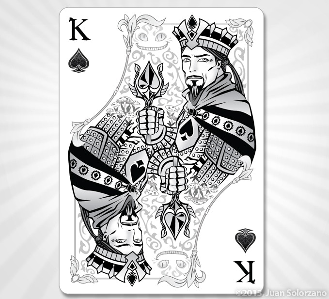 King of Spades (Silver Edition)